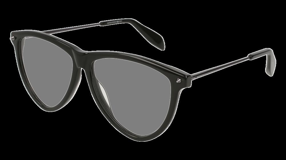 Alexander McQueen Eyeglasses - AM0105O - 001